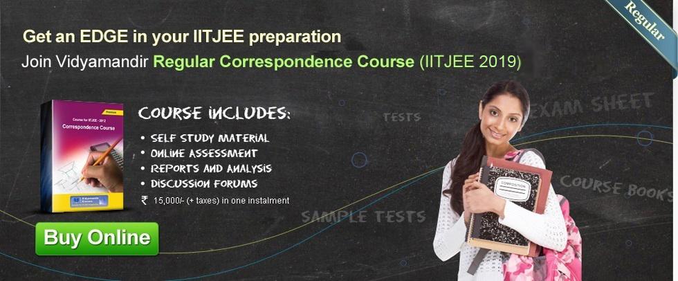VMC Correspondence Course for IIT JEE 2019 | Vidyamandir Classes