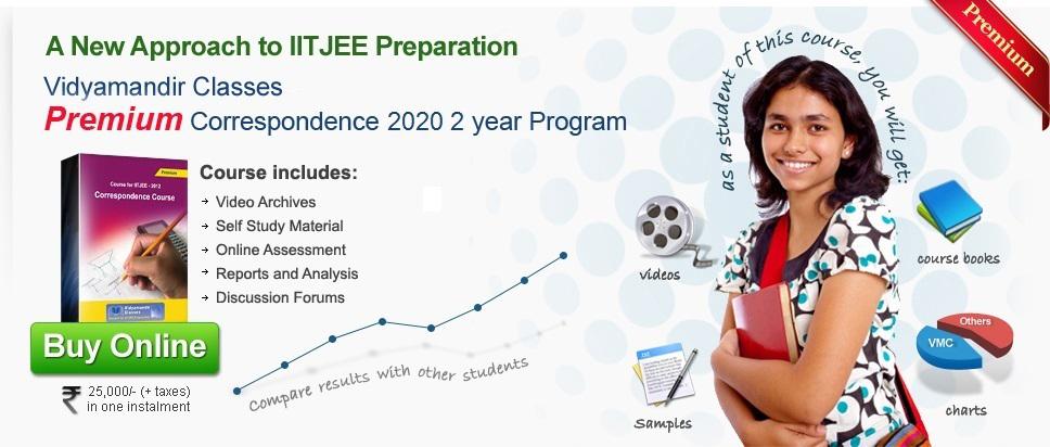 Premium Course - IIT JEE Correspondence ,Vidyamandir Classes