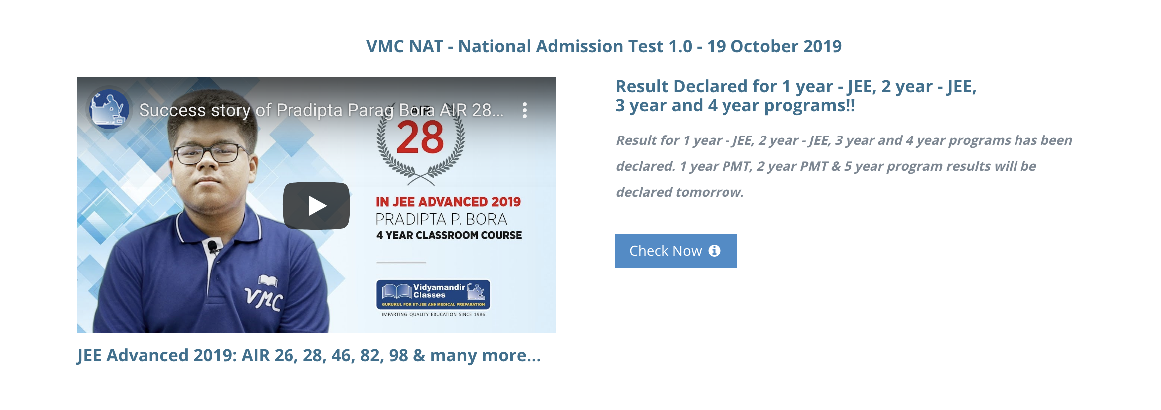 IIT JEE and NEET Coaching | Best Institute for IIT JEE and