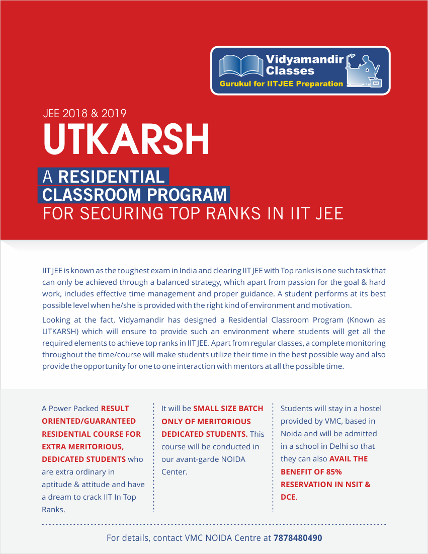 IITJEE Coaching Institute in Delhi for IITJEE Preparation